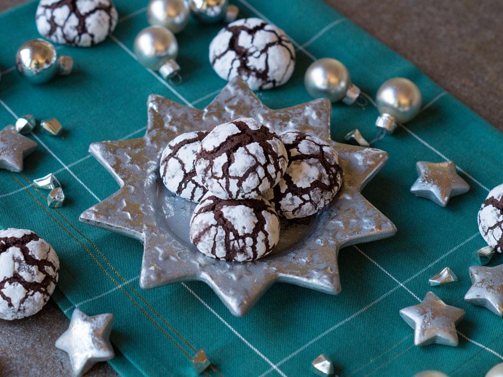 Schoko-Crinkle-Cookies von Danielas Foodblog