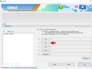 Add PDA Odin 3.07 for Samsung Galaxy S4 GT-I9500