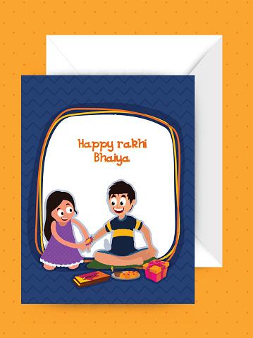 happy rakshabandhan cartoon picture quotes cutest ever