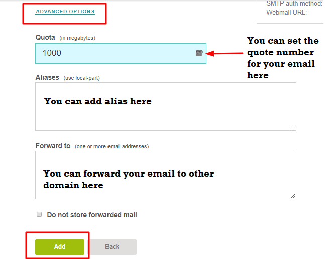 Configure Email Created On VestaCP Panel