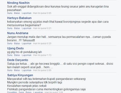 komentar - komentar netizen