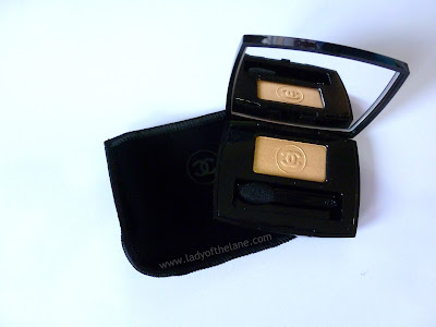 Chanel soft Touch Eyeshadow Blazing Gold
