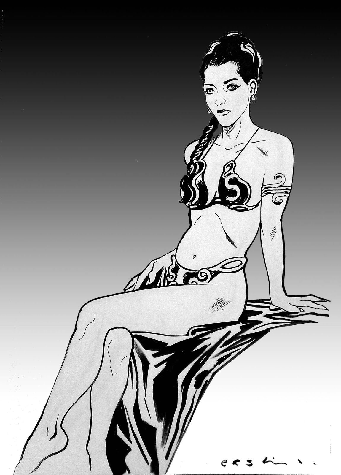 Cheaply got, Princess leia gold bikini picture