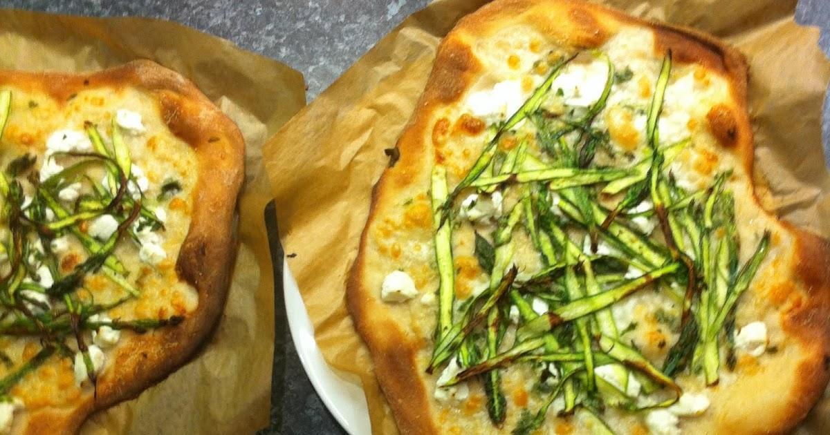 Asparagus Pizza Recipe Smitten Kitchen