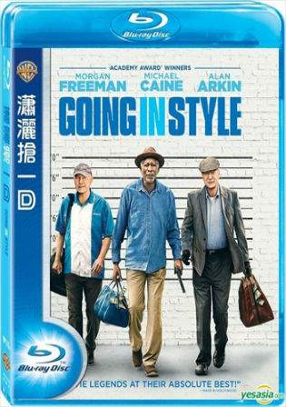 Going in Style 2017 Eng 720p BRRip 450Mb ESub HEVC x265