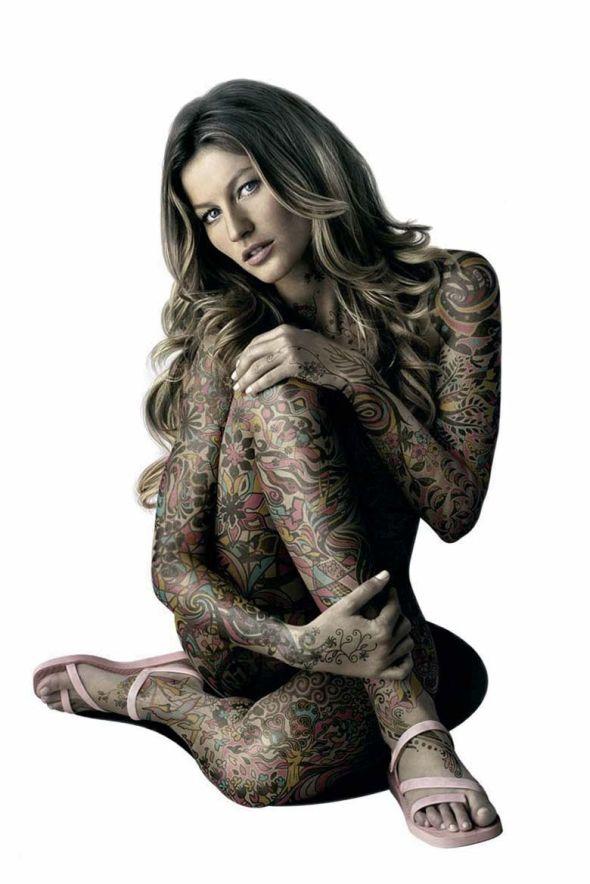 full body tattoos on women xxx
