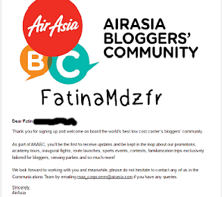 air asia blogger's community