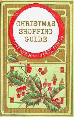 image vintage christmas holly berry red green christmas shopping guide