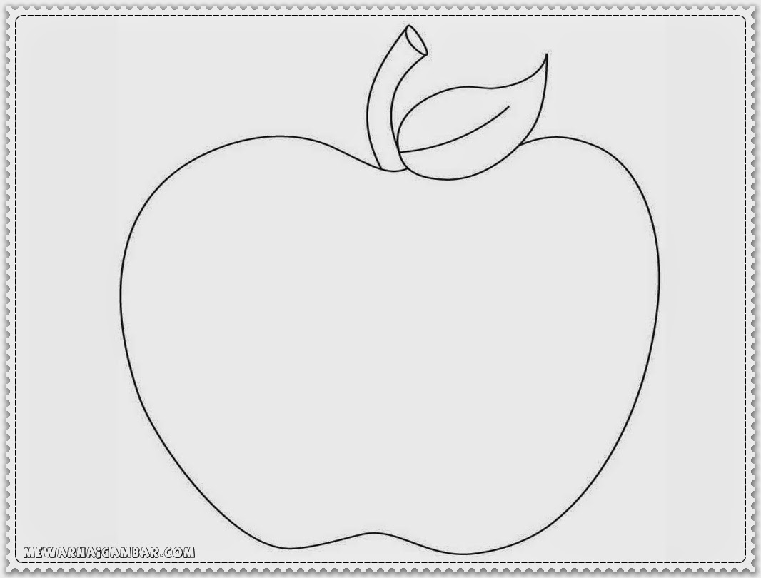 Apple Coloring Pages And Activities
