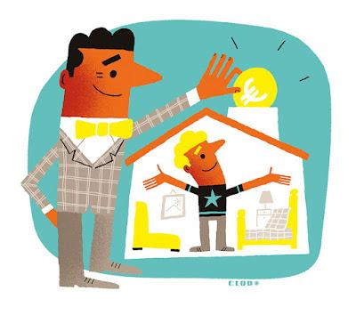 Clod illustration entraide famille le Particulier 2264