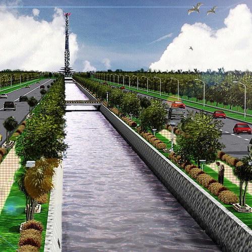 Tinuku Palangkaraya prepares 300 square kilometers Indonesia's new capital