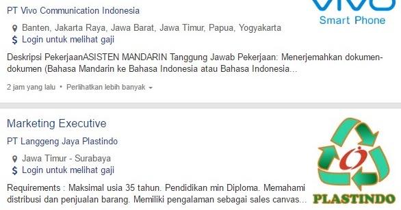 Info Terbaru Lowongan Kerja Pt Vivo Communication Indonesia 2020