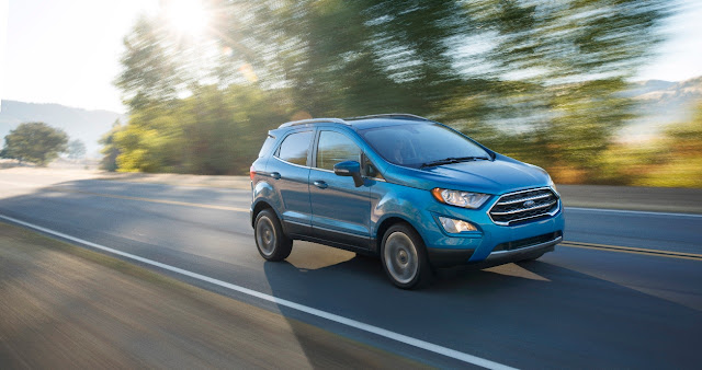 Ford's Newest Crossover Family Addition - The EcoSport