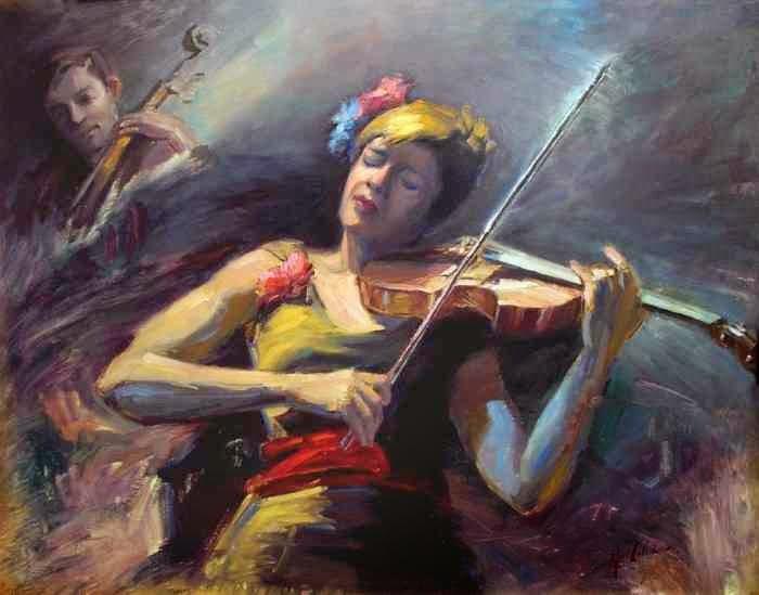 Реалистическая портретная живопись. Alfred Cosmo Colella