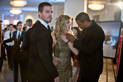 Arrow Oliver Felicity Diggle