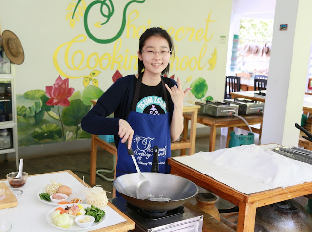 Thai Secret Cooking Class Photos. March 11-2017. Pa Phai, San Sai District, Chiang Mai, Thailand.