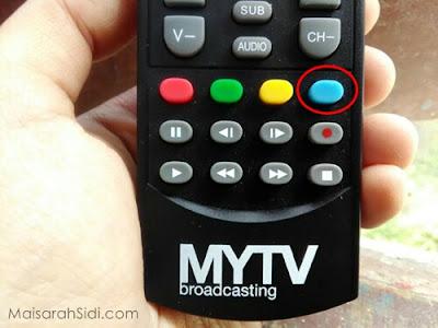remote control MYTV