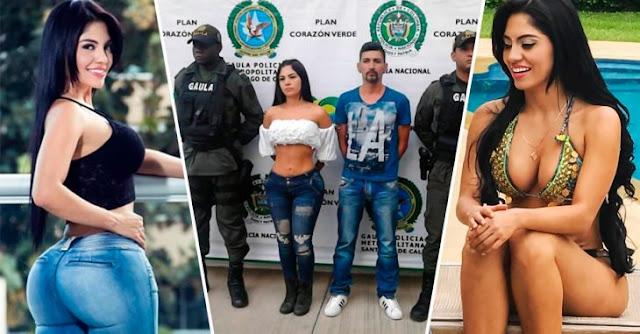 Sexy presentadora colombiana es acusada de secuestro y muerte