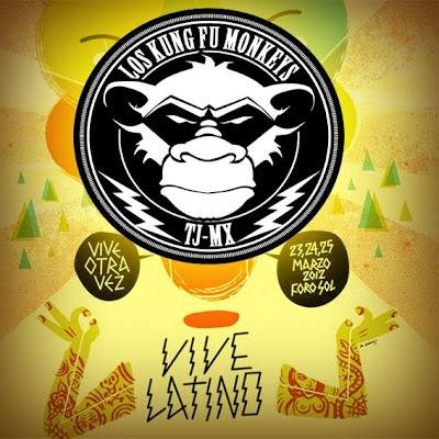 Los Kung Fu Monkeys - Vive Latino 2012 (2012)