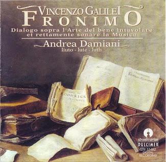 Vincenzo Galilei: Fronimo