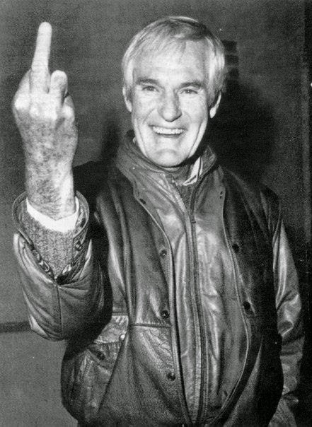 Timothy Leary Middle Finger