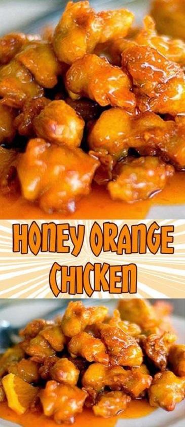 Honey Orange Chicken Recipes