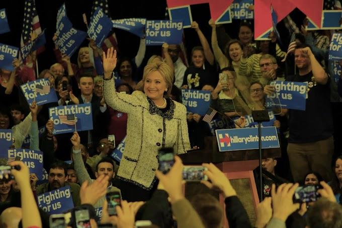 Nominación presidencial favorece a Clinton