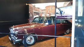 Royal car at the Royal Mews, Buckingham Palace