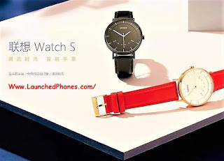 This is the latest smartwatch of the society Lenovo Watch southward Mechanical smartwatch launched