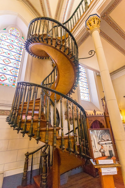 Loretto Chapel Santa Fe New Mexico by Laurence Norah-2