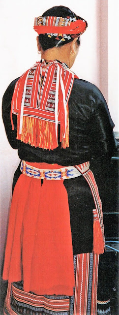 Folkcostume Embroidery Introduction To The Costumes Of The Hmongic Mienic Peoples Part 5 The Mien