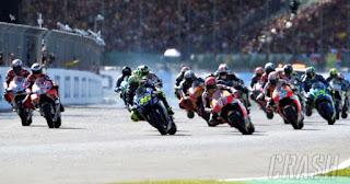 Balap MotoGP Inggris Diundur Jadi Pkl 22.00 WIB
