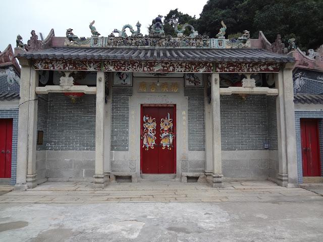 Templo de Tin hau en Tai O en Hong Kong