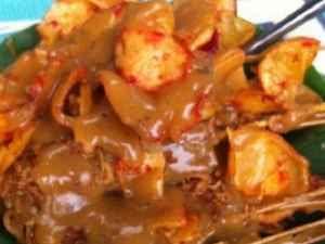 Kuliner Indonesia - Sate Padang Al-Fresco