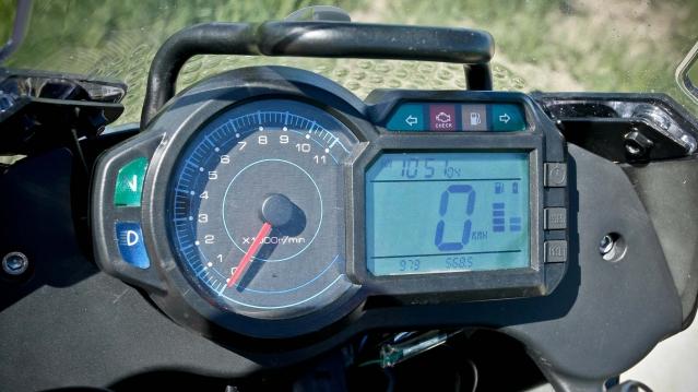 MASH ADVENTURE 400 Off Road Bike Test