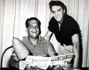 Oldies but Goodies: Bob Neal (October 6, 1917 - May 9, 198) Bob Neal, ex  DJ, agent and one time Elvis Presley manager, with Elvis