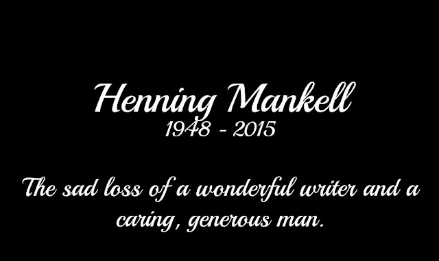Sad loss of Henning Mankell