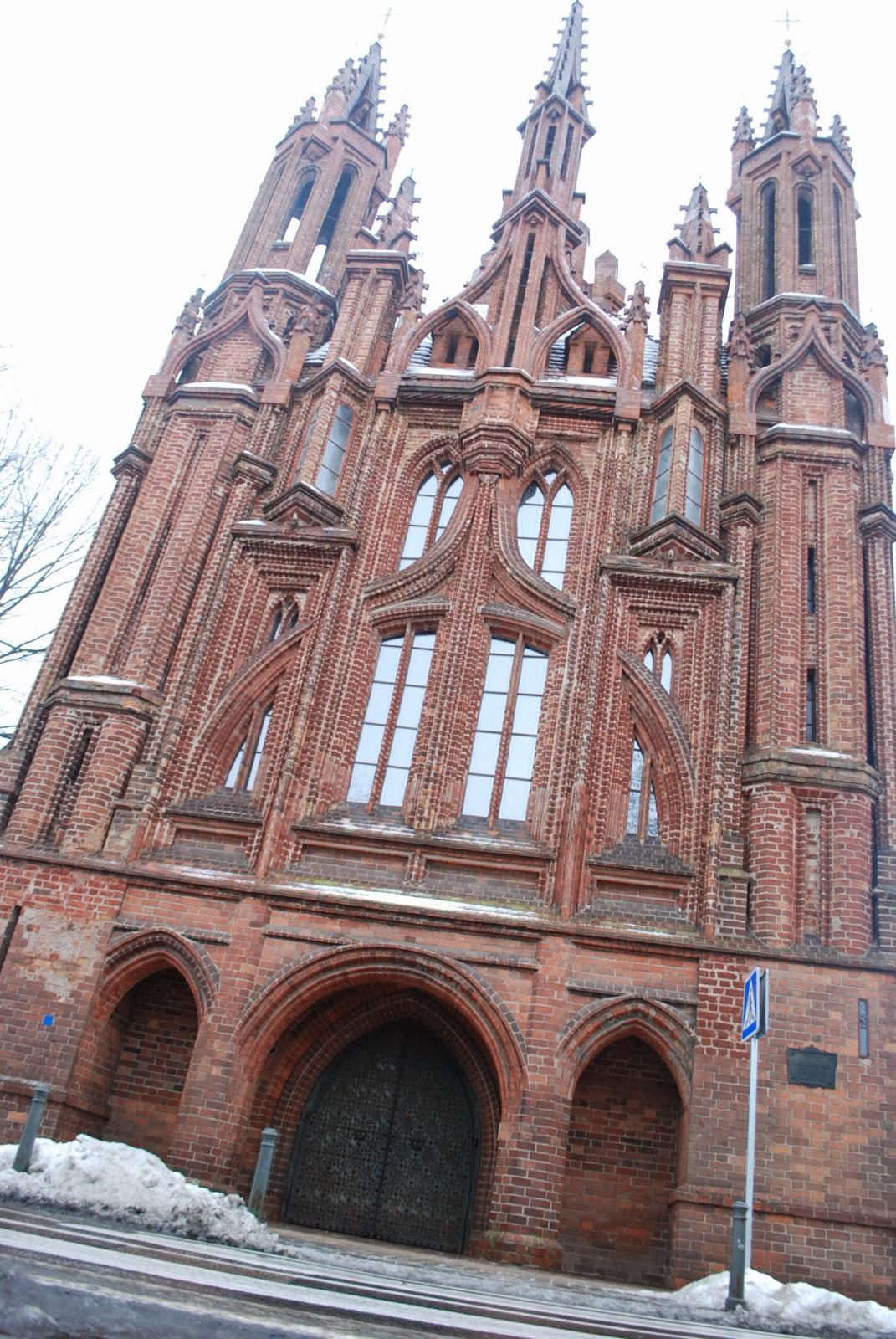 Церковь св. Анны, Вильнюс
