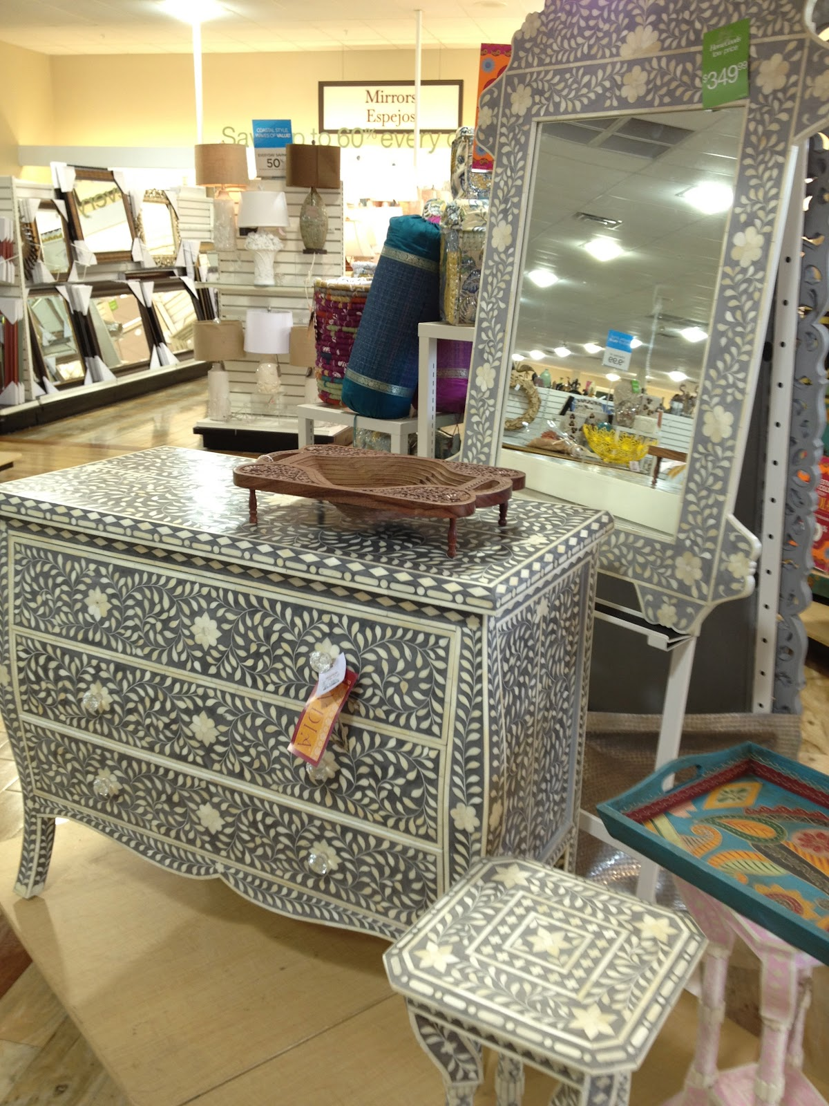 At Home Chairs Inspire Bohemia The Indian Bazaar Is At Tjmaxx Homegoods