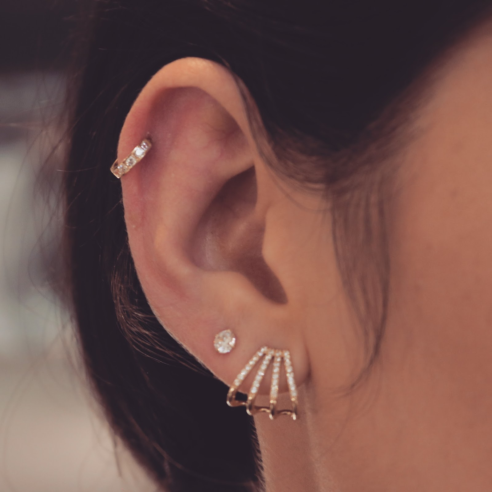 Hello Crisst Earrings For Cartilage