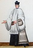Un chanoine est un membre du clergé