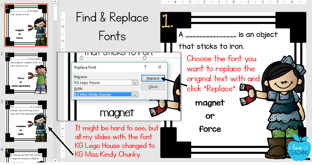 Finding and Replacing Fonts in PowerPoint