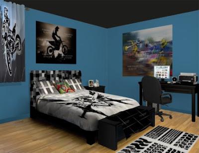 Bedroom Decoration Motocross Bedroom Decor