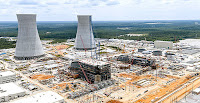 Construction on units 3 and 4 of Plant Vogtle. (Credit: Georgia Power Co.) Click to Enlarge.