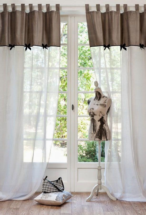 elegant rideaux voilage maisons du monde with rideaux. Black Bedroom Furniture Sets. Home Design Ideas