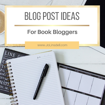 Blog Post Ideas For Book Bloggers #Blogtober