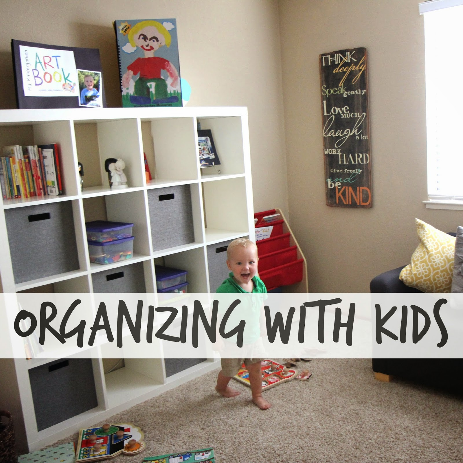 Toddler Approved!: Keeping Your House Organized With Kids