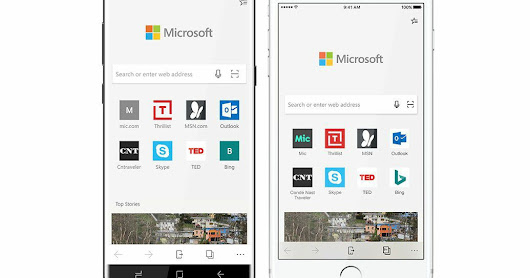 Microsoft finally released Edge browser for Android and iOS devices- Download now!