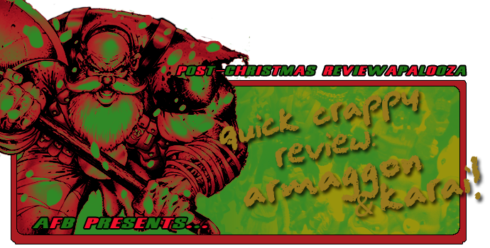 AF Blog: Post-Christmas Quick Crappy Reviewapalooza 2017