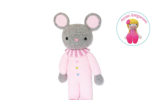 Huggy Mousey from the new Huggy Dolls 2 book
